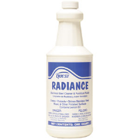 Quest Chemical 279016 RADIANCE Stainless Steel Cleaner/Furniture Polish,1Qt,12/Cs.