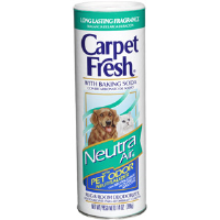 WD-40 279141 Carpet Fresh® Powder Deodorizer,14 oz Neutra Air for Pets