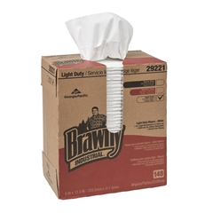 Georgia Pacific 29221 Brawny™ Light Duty 2-Ply Paper Wipers