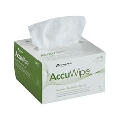 Georgia Pacific 29712 AccuWipe® Recycled 1-Ply Delicate Task Wipers