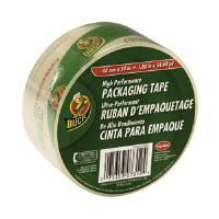 "Duck Brand 297438 Heavy-Duty Clear Bulk Tape, 1/Pkg, 1.88"" x 54.6 yd"