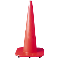 Jackson Safety 3004179 F Series Traffic Cone, 28""