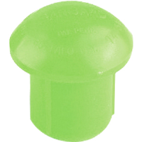 Jackson Safety 3005543 Bargard A-10 Protector Caps, Lime