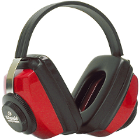 Jackson Safety 3010417 Silencio® RBW-71 Earmuffs, Red