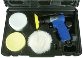"Astro Pneumatic 3055 3"" Mini Air Polishing Kit"