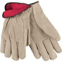 MCR Safety 3150M Premium Red Fleece Lined Insulated Drivers,M,(Dz.)