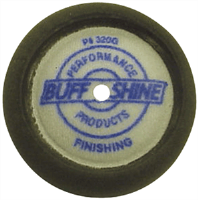 "Buff and Shine 320G 3"" Foam Finishing Pads, (2 Pk.)"