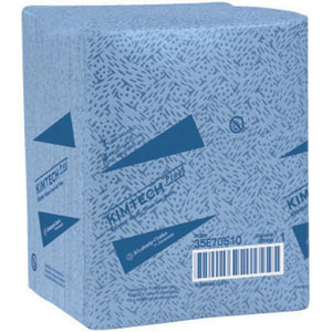 Kimberly Clark 33560 Kimtech Prep Kimtex Blue Wipers (12X14.4)