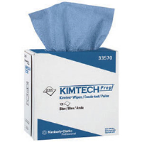 Kimberly Clark 33570 Kimtech Prep Kimtex Wipers, Pop-Up Box, 5 Boxes/100 ea