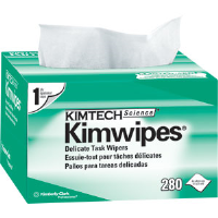 Kimberly Clark 34155 Kimwipes Delicate Task Wipers , 60 Boxes/280 ea