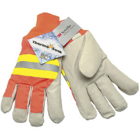 MCR Safety 3440L Luminator™ Grain Pigskin Drivers w/ThermoSock®,(Dz.)