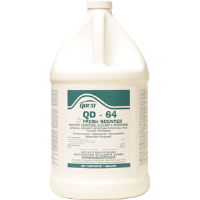 Quest Chemical 356415 QD-64 FRESH Disinfectant 64:1,1 Gal, 4/Cs.