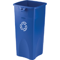 Rubbermaid 3569-73 Untouchable® 23 gal Square Recycling Container