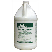 Quest Chemical 374415 Thrift-O-Mint Cleaner/Deodorant/Disinfectant 32:1, 1 Gal, 4/Cs.