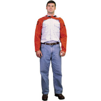 "MCR Safety 38423 Red Ram™ Flame Retardant 23"" Welding Sleeves"