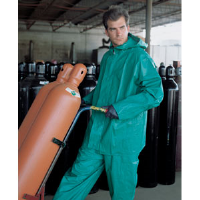 MCR Safety 3882 Dominator 2 Pc. Flame Retardant Suit, Green, S