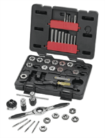 Gearwrench 3885 40 Pc. Tap and Die Drive Tool Set-SAE