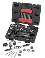 Gearwrench 3886 40 Pc. Tap and Die Drive Tool Set-METRIC