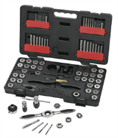 Gearwrench 3887 75 Pc. Tap and Die Drive Tool Set-SAE/METRIC