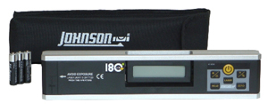 Johnson Level 40-6080 Electronic Level Inclinometer w/ Rotating Display
