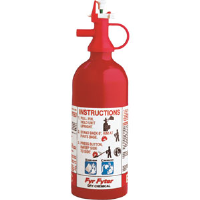 Kidde 4004000 1 lb BC 100D Pindicator Extinguisher w/Wall Hook
