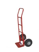 "Milwaukee Hand Truck 40380 Flow Back Hand Truck w/ 10"" Tires"