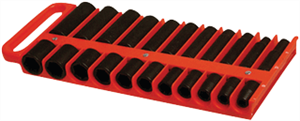 "Lisle 40900 1/2"" Magnetic Socket Holder (Red)"