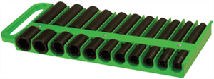 "Lisle 40990 1/2"" Magnetic Socket Holder (Green)"