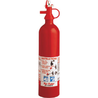 Kidde 4104000 2 lb BC 210D Pindicator Disposable Extinguisher w/Wall Hook