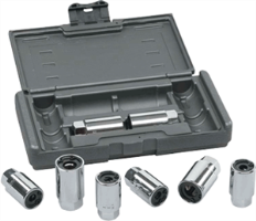 "KD Tools 41760 8 Pc. 3/8"" Dr SAE/Metric Stud Removal Kit"