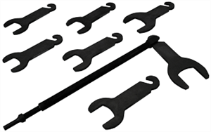 Lisle 43300 Pneumatic Fan Clutch Wrench Set