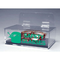 Brady 43395 Safety Glasses Holders w/Cover