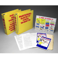 Brady 45328 MSDS Training Binder Insert