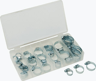 Titan 45348 34 Pc. Hose Clamp Assortment
