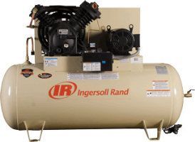 Ingersoll Rand 45465804 2 Stage Type 30 Standard Package, 120 Gallon Horizontal Compressor