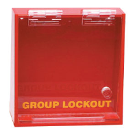 Brady 45577 Prinzing Acrylic Wall Lock Box - Small