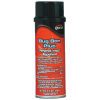 Quest Chemical 458 Bug Ban Plus Personal Insect Repellent, 12oz,12/Cs.