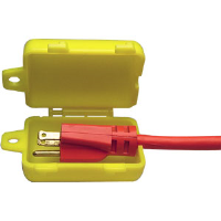 Brady 45841 Small Plug Lockout