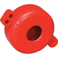 "Brady 46281 Safetee Donut (1"" to 2.5""), Red"