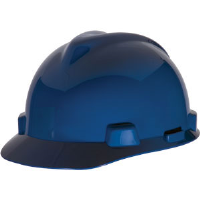 MSA 463943 V-Gard® Standard Cap w/Staz-On, Blue