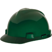 MSA 463946 V-Gard® Standard Cap w/Staz-On, Green