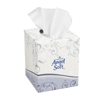 Georgia Pacific 46580 Angel Soft ps® Premium Facial Tissue, Cube Box, 36/Cs.