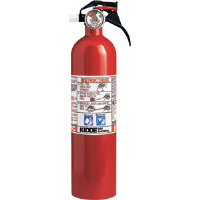 Kidde 466141 2-3/4 lb BC Kitchen/Garage Extinguisher w/Nylon Strap Bracket