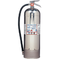 Kidde 466403 2-1/2 gal Pro 2.5 W Water Extinguisher w/Wall Hook