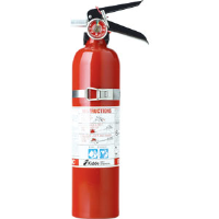 Kidde 466422 2-3/4 lb BC Vehicle Extinguisher FC10M w/Steel Strap