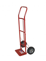 "Milwaukee Hand Truck 47109 Flow Back Handle Truck w / 8"" Solid"