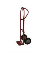 "Milwaukee Hand Truck 47118 P-Handle Hand Truck w/ 10"" Solid"