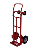 "Milwaukee Hand Truck 47180 Convertible Truck w/ 10"" Solid"