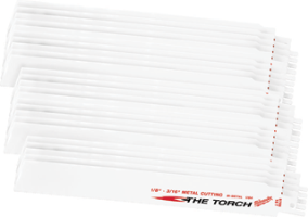 "Milwaukee 48-00-8788 Super Sawzall Torch Blades 9"", 18 TPI, 25 Pk."
