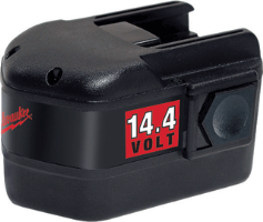 Milwaukee 48-11-1014 14.4 Volt Replacement Battery, 1.7 A